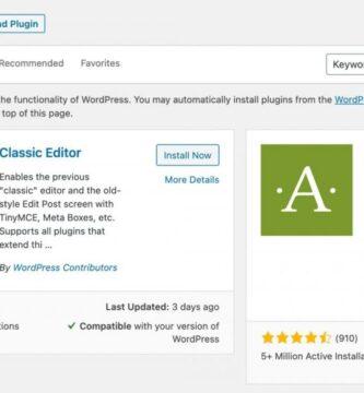 Cómo agregar un nuevo complemento en la administración de WordPress