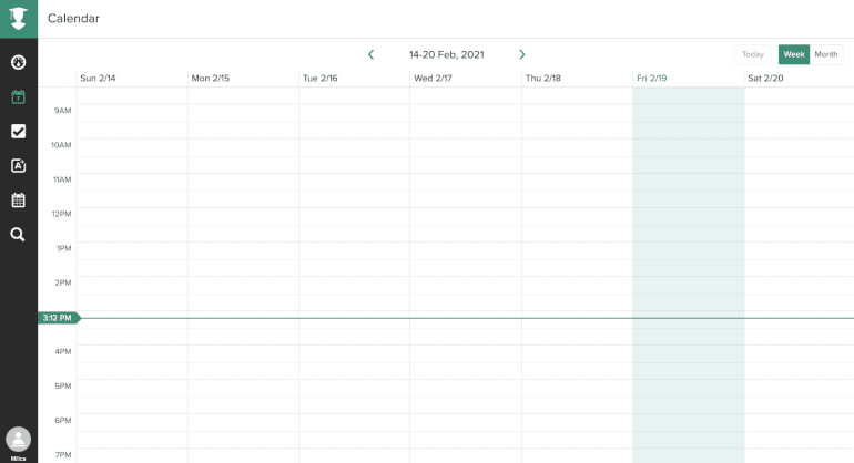 Mi software de calendario de vida de estudio