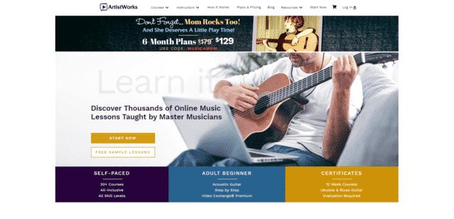 Artistworks Aprende lecciones de música en línea