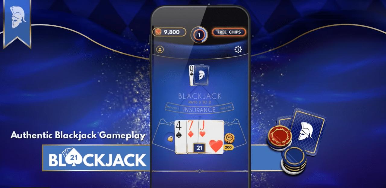 Blackjack free es una gran aplicación de blackjack gratuita.