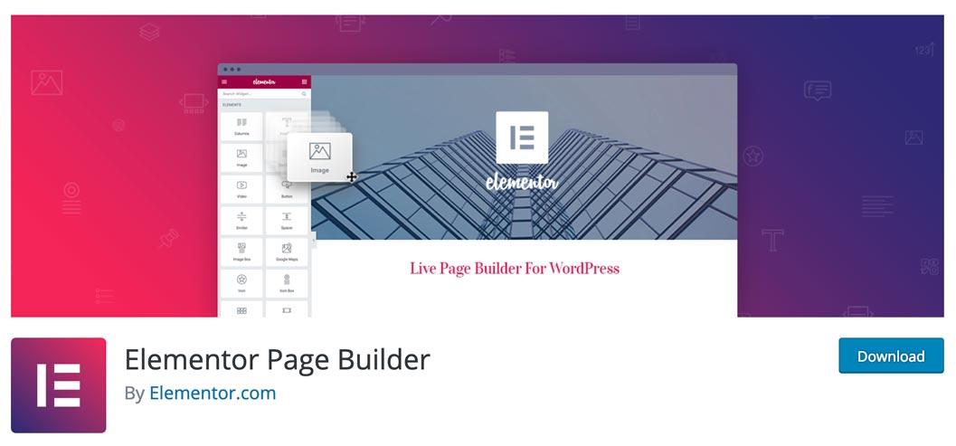 Elementor es un creador de sitios web de WordPress