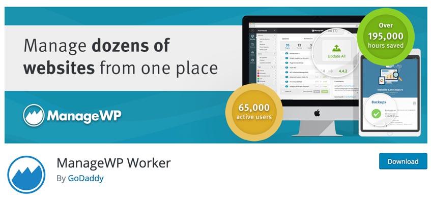 ManageWP Worker para descargar