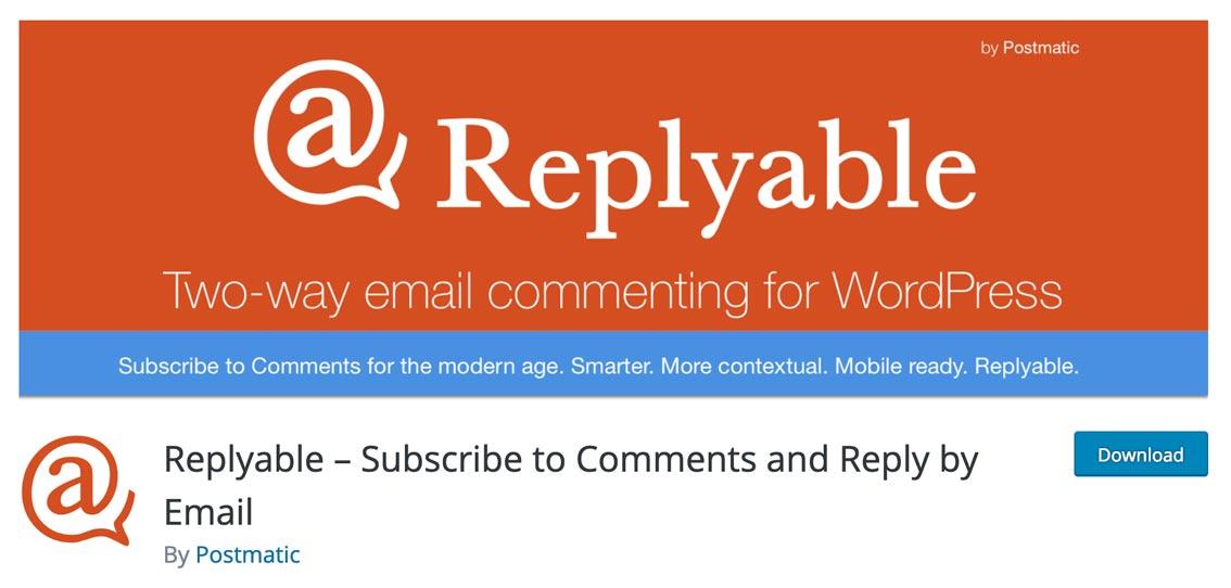 Responde por comentarios en WordPress