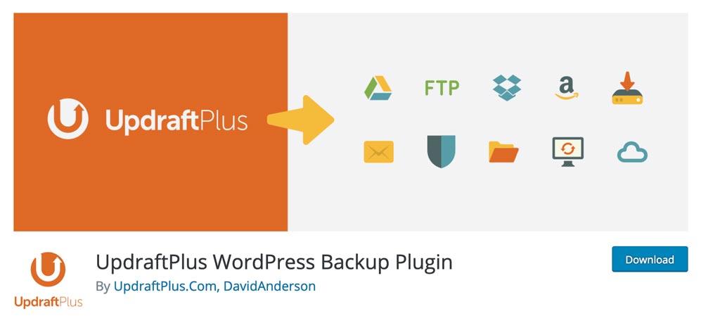 UpdraftPlus: uno de los mejores complementos de WordPress del que no puede prescindir