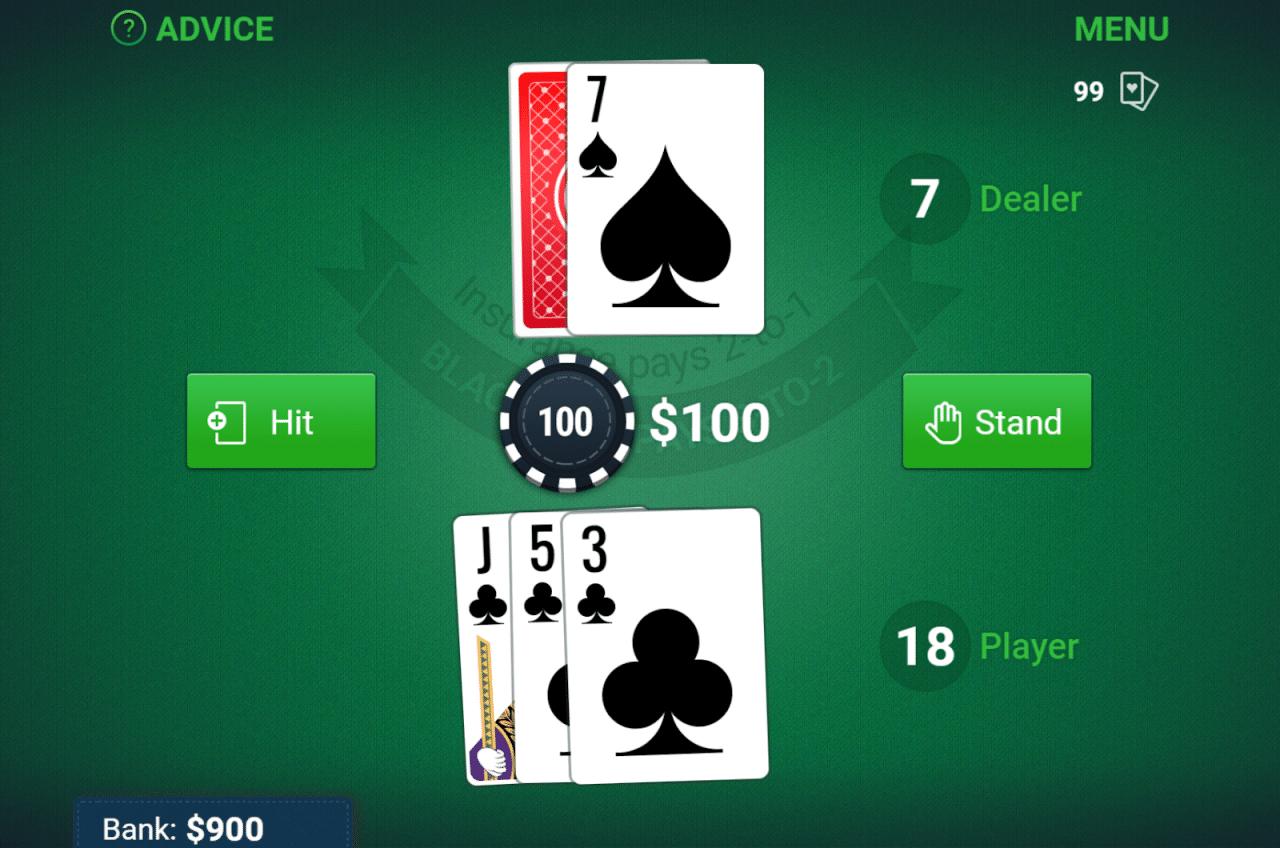 Daily Mail tiene un gran juego de blackjack gratuito.